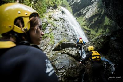 Rafting Ahrntal Wasserfall