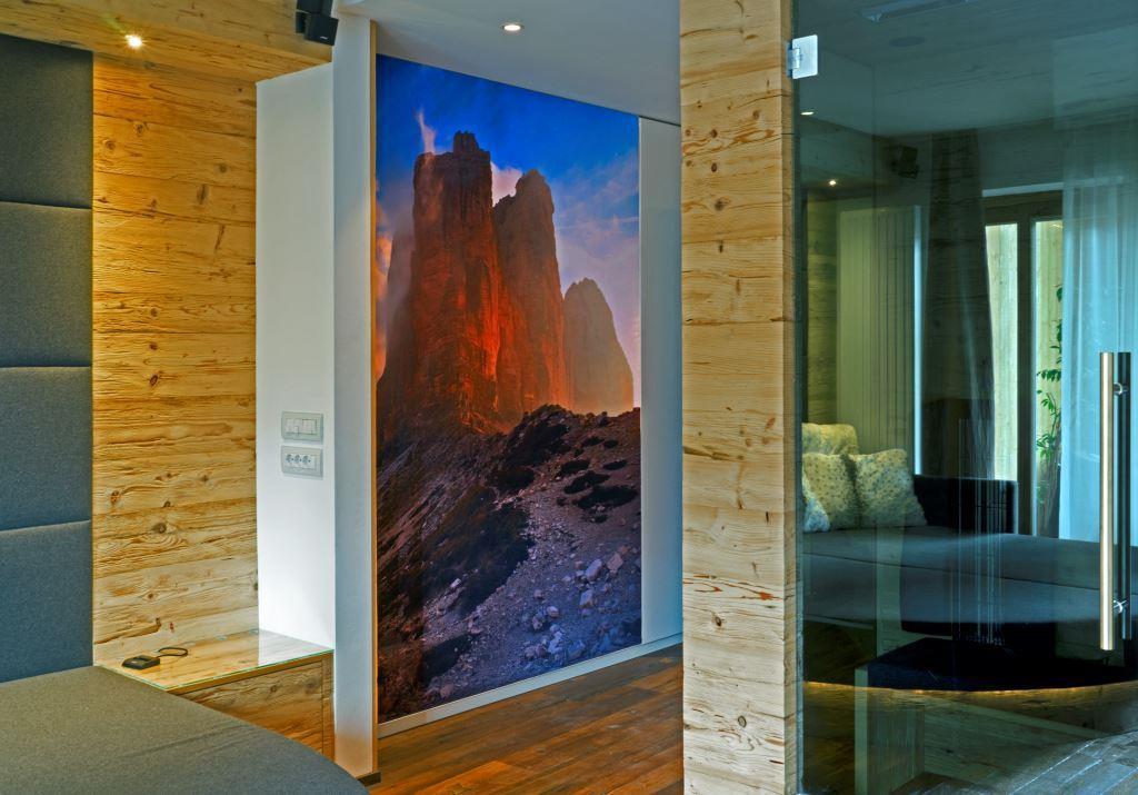 Ferienwohnung Dolomiten Infrarotkabine