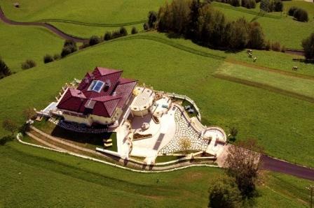 Das Land-Palais Luxus-Ferienwohnung Kronplatz Dolomiten Suedtirol