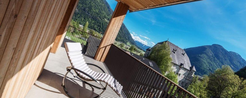 Südbalkon - freier Ausblick bis Bruneck